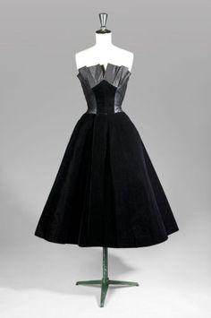Jacques FATH Haute Couture, n° 6672, circa 1950