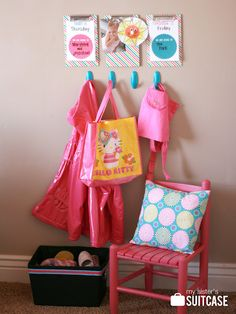 My Sister's Suitcase: Getting Organized : DIY Toddler Command Center