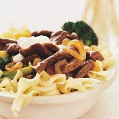 Beef Stroganoff with Pasta Recipe | Food Recipes - Yahoo! Shine