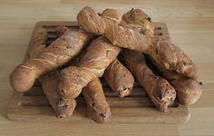 Stephi's delicacies: bread, tomato root