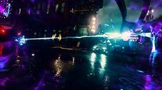 inFamous: Second Son - Neon Beam & Laser Focus