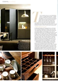 Shelving/storage detail from Martin Moore's Classic kitchen martinmoore.com Essential Kitchen Bathroom Bedroom April 2014