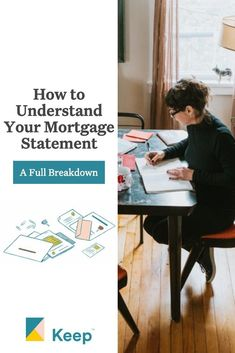 Understanding your mortgage statement can be confusing but we're here to help break it down! Fha Mortgage, Mortgage Payment, Private Mortgage Insurance, Flood Insurance, Borrow Money, Protecting Your Home, Home Ownership, Real Estate Investing