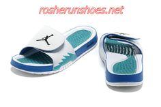 bc722854a nike air jordan hydro 5 slide sandals white blue sneakers p 3606
