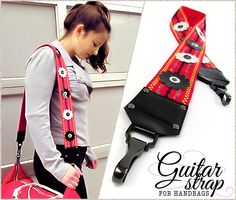 Guitar Strap – The Trendy Bag Accessory: Janome America | Sew4Home