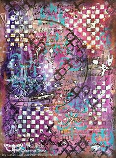 FRIENDS in ART: An Abstract Journal Page
