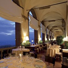 Dining at The Belmond Villa San Michele, Florence, Italy - Luxury Hotel in Tuscany