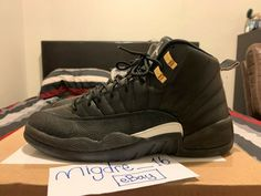 designer fashion a6044 80aeb Nike Air Jordan Retro 12 The Master 1 2 3 4 5 6 7 8 9