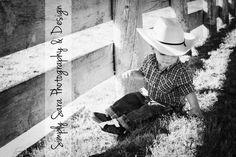 Little Cowboy - 1 Year Old Boy Photo