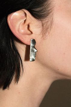 Open House Jewelry - Brass Fille Earrings | BONA DRAG