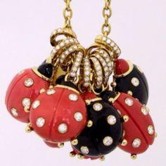 Coccinelle mon amour www.loffredo.eu ladybug coral jewelry