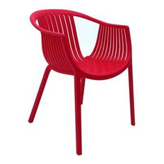 Cadeira Sala de Jantar Coop - Vermelho