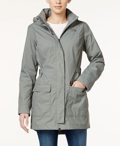 The North Face Tomales Bay Water-Resistant Long Jacket