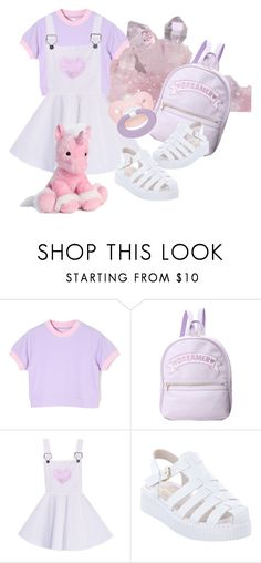 """going to the park with daddy"" by brattybabygirl ❤ liked on Polyvore featuring Lipstik, daddy, ddlg and daddydomlittlegirl"