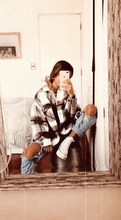 Winter Mode Outfits, Trendy Fall Outfits, Cute Comfy Outfits, Cute Outfits For School, Winter Fashion Outfits, Retro Outfits, Simple Outfits, Look Fashion, Outfits For Teens