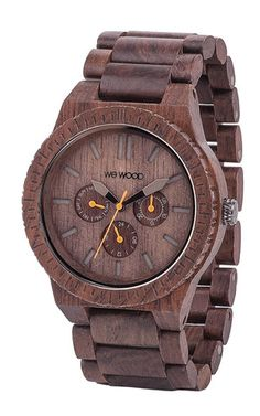 KAPPA CHOCOLATE | WeWOOD Wooden Watches made from 100% natural wood!