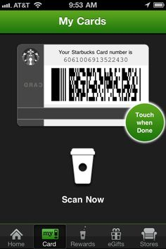 Get a coffee, give a coffee - Jonathan's Stark's Coffee Card - an experiment in social sharing