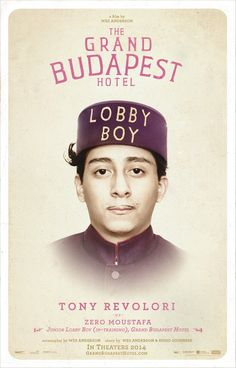 The Grand Budapest Hotel--Introducing Tony Revolori as Zero the Lobby Boy