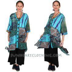 SunHeart Goddess Boho Top Jacket Dress I'm a Creative
