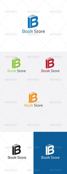 B Letter Book Store - Logo Design Template Vector #logotype Download it here: http://graphicriver.net/item/b-letter-book-store-logo/6255097?s_rank=940?ref=nexion