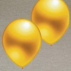 Luftballons Gold