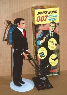 James Bond 007 Action Figure - http://www.collectors-club-of-great-britain.co.uk