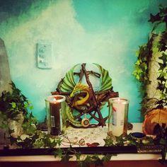 Dragon Magick Altar