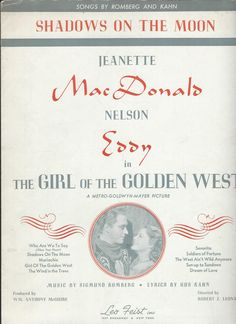 Sung by Jeanette MacDonald - Escano Collection