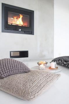 cozy fireplace ♥