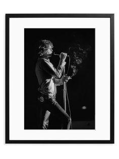 Jim Morrison Live at the Kongresshalle (Framed)