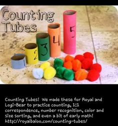 Counting tubes