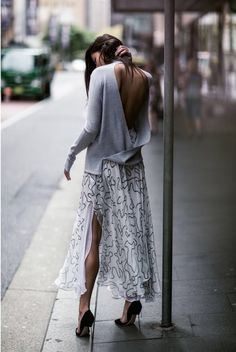 backless in NYC.