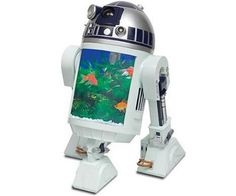 R2-D2 Aquarium with built-in periscope @Jess Liu Sutton Storrs this just might be a house warming gift for you and curt :-D