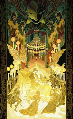 The Phantom of the Opera by kibikage