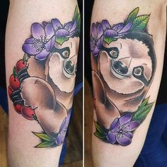 Sloth by Kat Paine. Hidden hand studio Belfast.