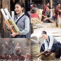Jung Da Bin as young Ok Nyeo #flowerintheprison