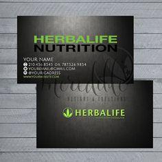 Herbalife business card Digital File by IncredibleCE on Etsy