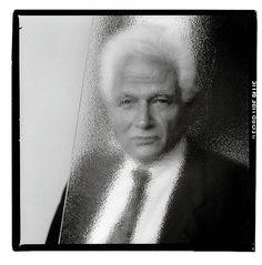 Jacques Derrida_photo de Gérard Rondeau.