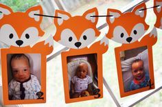 0-12 Fox Photo Banner First year photo by SimplyCharmingParty