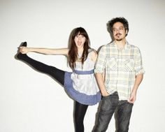 She & Him on ION Magazine. If you'd like to see a jumpy and completely adorable Zooey.