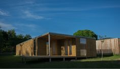 Exterior #viviendamodular #Addomo #madera #arquitectura #diseno #modular addomo.es