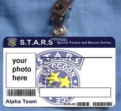Resident Evil STARS Raccoon Police Department Custom by MovieProps, $9.98
