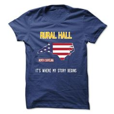 RURAL HALL - Its where my story begins T-Shirts, Hoodies (21.99$ ==► Order Here!)