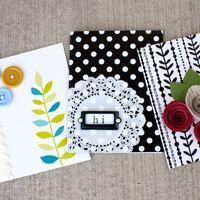 easy homemade cards