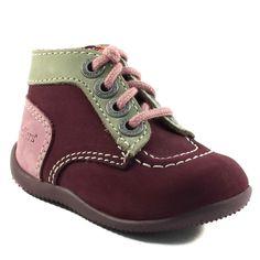 150A KICKERS BONBON VIOLET www.ouistiti.shoes le spécialiste internet  #chaussures #bébé, #enfant, #fille, #garcon, #junior et #femme collection automne hiver 2016 2017