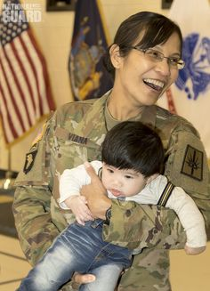 This little guy may not know it, but he was at MSG Viana's promotion to SGM. Congrats!