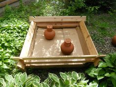 Raised Beds with Ollas