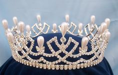 Rhinestone full Romanov Palace Crown    http://www.crowndesigners.com/en/medium-queen/princess//rhinestone-full-romanov-palace-crown/prod_446.php