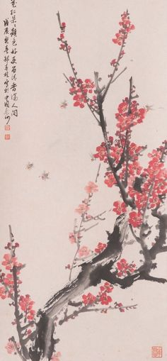 Check out Chinese hanging scroll Plum painting Antique wall art hs0718  http://www.ebay.com/itm/Chinese-hanging-scroll-Plum-painting-Antique-wall-art-hs0718-/122015222706?roken=cUgayN&soutkn=9P1KM6 via eBay