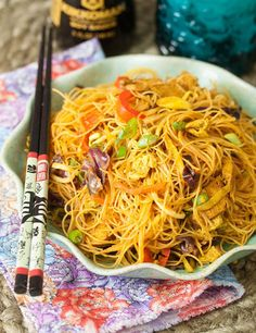 Singapore-Mei-Fun - This is similar to a recipe I already make, but with some curry, paprika & tumeric added.